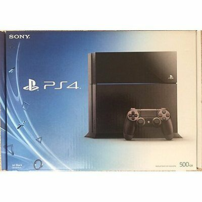Sony PlayStation 4 Console 500 GB Black PS4 Very Good 7Z