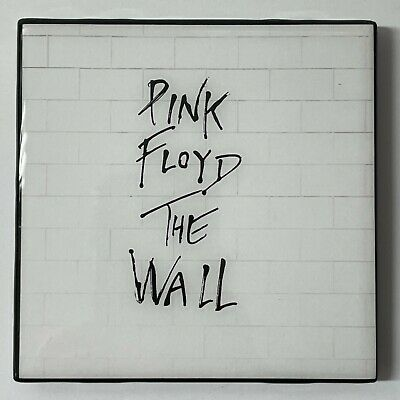 PINK FLOYD The Wall Coaster Ceramic Tile Record Cover