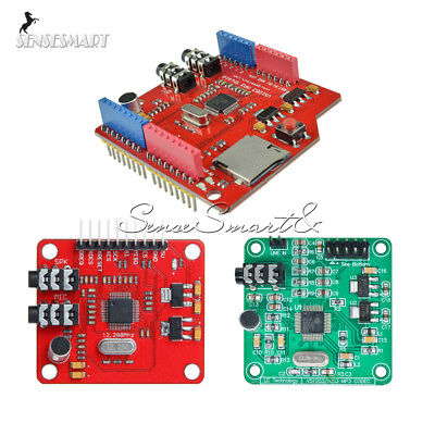 VS1053B IC VS1053 MP3 Music Board Shield Module TF/ SD Card Slot Arduino UNO R3