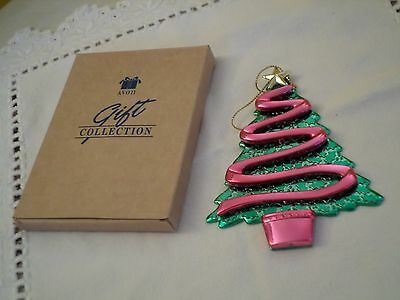 Vintage Avon Reflections Of Christmas Tree Ornament,new In Box 5""
