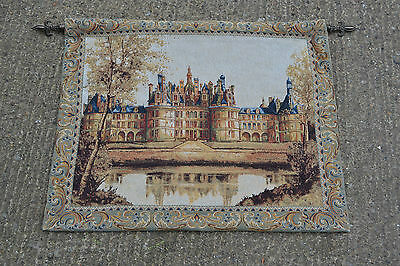 FLEMISH TAPESTRIES CHAMBORD CASTLE MADE IN BELGIUM 65 x 80
