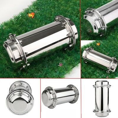 10.2'' Waterproof Time Capsule Stainless Lock Container Storage For Future Gift