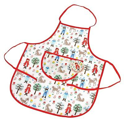 dotcomgiftshop RED RIDING HOOD CHILDREN'S APRON