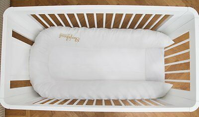 Sleepyhead Grand Baby Pod 8-36 Months in Pristine White NEW 7394322260482