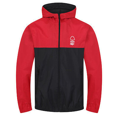 Nottingham Forest FC Official Football Gift Boys Shower Jacket Windbreaker