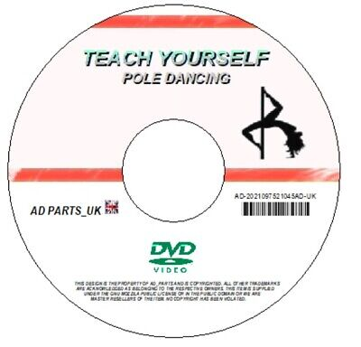 Teach Yourself How To Pole Dance Beginners Step By Step Fitness Exersise On Dvd
