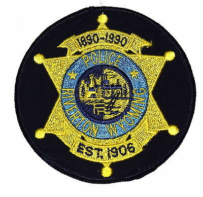 RIVERTON WYOMING WY Police Sheriff Patch STATE SEAL GOLD STAR ~