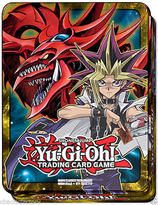 YUGIOH Mega Tins 2016 Yugi Muto & Slifer The Sky Dragon Factory SEALED!