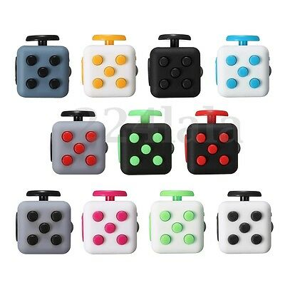 Magic Fidget Anxiety Stress Relief Focus 6-side Cube Gift For Adults & Child Hot