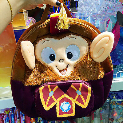 Albert Monkey Backpack Bag Hongkong Disneyland Disney Park Exclusive
