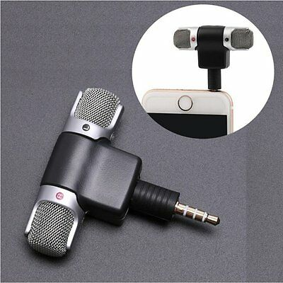 Professional Mini Recorder Stereo Voice Digital Mic Microphone Portable (b)