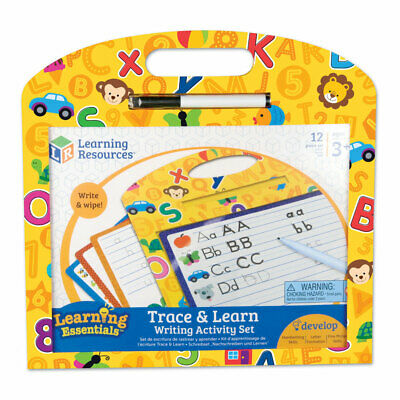 Trace and Learn Writing Activity Set - Children's handwriting set