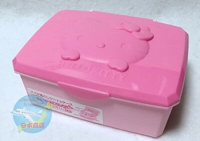 Brand-NEW SANRIO HELLO KITTY KAWAII Small Box with Hinged Lid Wet Tissue Case