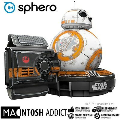 Sphero Star Wars Battle-Worn Edition BB-8 App-Enabled Robotic Droid + Force Band