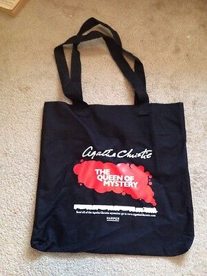 Agatha Christie Tote Bag Harper Queen Of Mystery Quote