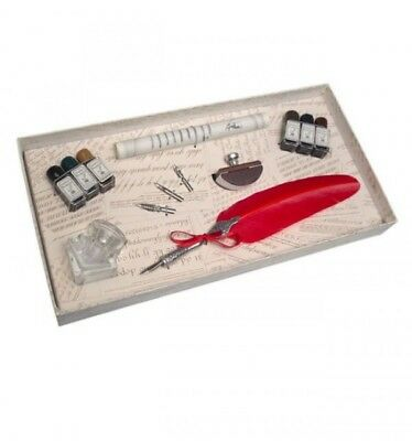 Set of Writing with Pen Bird and Accessories
