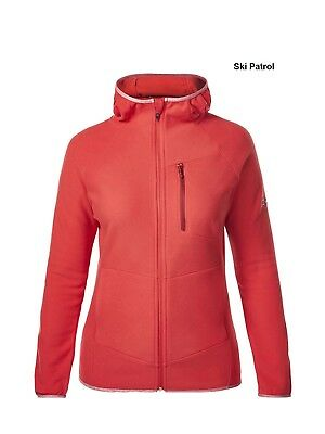 Berghaus Womens Verdon Hooded Fleece - Full Zip, Lightweight Warmth