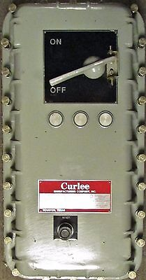 CURLEE E0B EOB Explosion Proof Starter Breaker Combination Enclosure