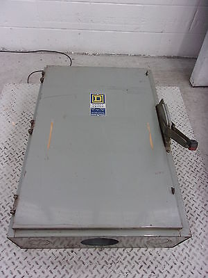 Square D 240 Volt 400 Amp Fused Disconnect Safety Switch (DIS3016)