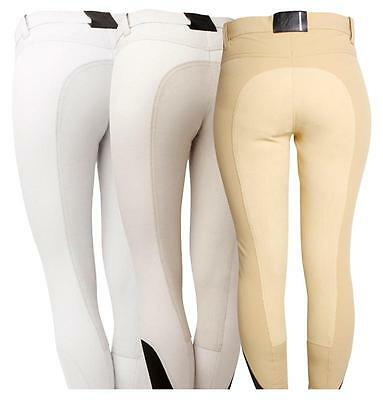 Horseware Ladies Woven COMPETITION Full BREECHES Canary/White/Black/Beige 24-34