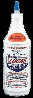 Lucas Heavy Duty Oil Stabilizer Oil Treatment  New 1 Quart LUCAS 10001