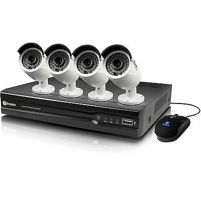 Swann NVR8-7400 8 Channel 2TB CCTV Kit with 4x 4MP NHD-818 Cameras