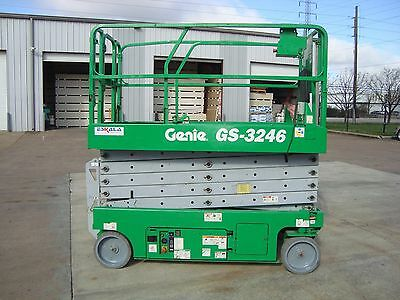 "Genie GS3246 Year 2008 Scissor Lift (32' H x 46"" W)"