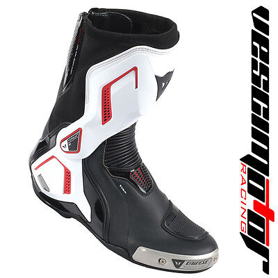 Stivale Torque D1 Out Air Boots Black/White/Lava Red