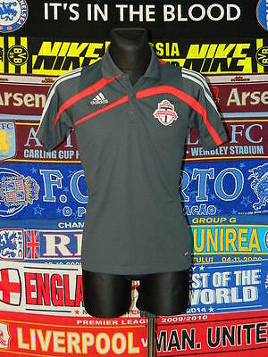 5/5 Toronto FC adults S MINT polo football shirt jersey trikot soccer