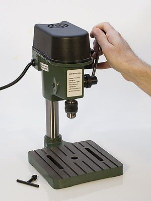 TruePower 01-0822 Precision Mini Drill Press with 3 Range Variable Speed Control
