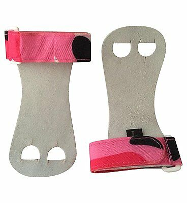 Gymnastics Youth Hand grips Pink Camo, Large
