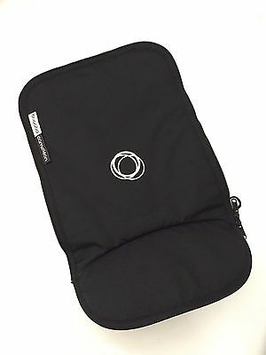 New Bugaboo Cameleon Stroller Bassinet Apron Black Canvas Baby Carry Cot Cover