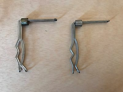 Set of 2 Bard HYAMS Penile Clamps (Ref# 000433)