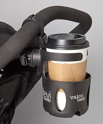 New Valco Universal Stroller Cup Holder Fits Combi Mutsy Maclaren Baby Jogger