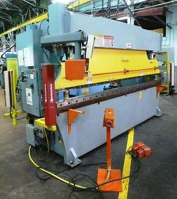 Atlantic Model HD135-12, 135 Ton, Hydraulic Press Brake, 12' OAL, w/ CNC BG