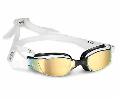 MP Michael Phelps Xceed Swimming Goggles - Titanium Mirrored - Gold Edition