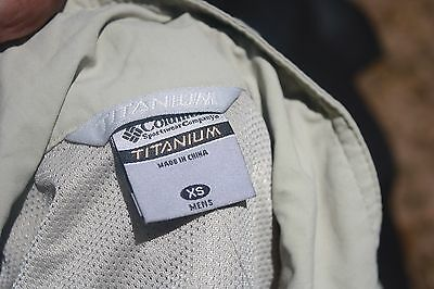 Columbia titanium outdoor vest, fly fishing, hiking, new NWT XS Mens