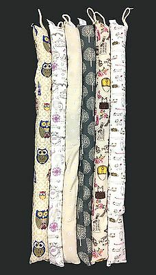New Handcrafted Door Snake Sauage Draught Wind Draft Stopper Excluder 6Design