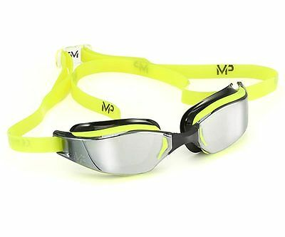 MP Michael Phelps Xceed Swimming Goggles - Mirrored Lens - Yellow Black