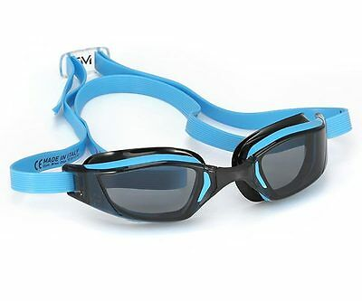 MP Michael Phelps Xceed Swimming Goggles - Dark Lens - Blue Black