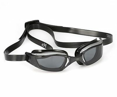 MP Michael Phelps Xceed Swimming Goggles - Dark Lens - Black Silver