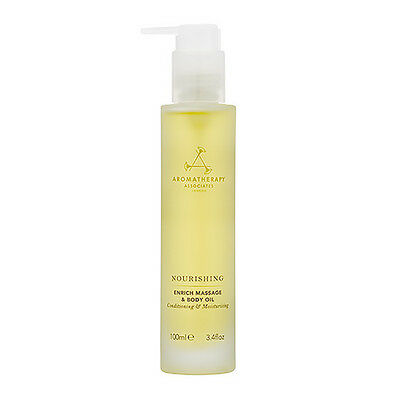 1 PC Aromatherapy Associates Enrich Massage Body Oil Natural Bodycare 100ml