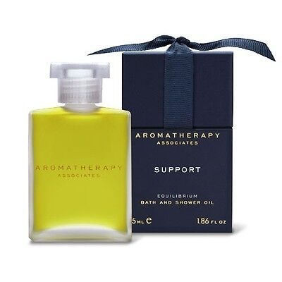 1 PC Aromatherapy Associates Support  Bath Shower Oil 55ml Type Equilibrium