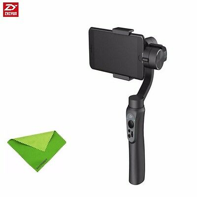 Zhiyun Smooth-Q 3-Axis Handheld Gimbal Stabilizer for Smartphone -Black + cloth
