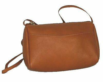 David King & Co. Top Zip Mini Bag 501, Tan, One Size