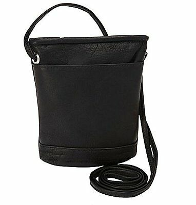 David King & Co. Top Zip Mini Bag 512, Black, One Size