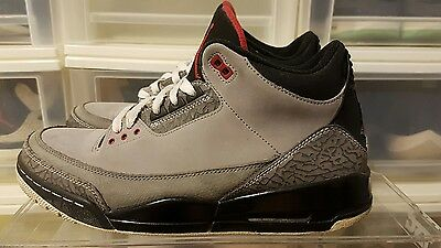 Jordan Retro 3 Stealth size 10.5 100% authentic yeezy boost nike sb