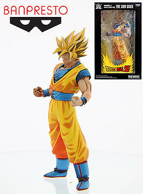 Banpresto Dragon Ball Z 9.5-Inch The Son Goku Master Stars Piece Figure MANGA