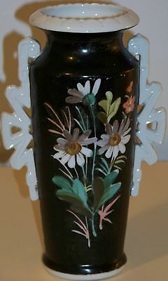 "Antique  Old Paris or Limoges 8 3/4"" Vase"