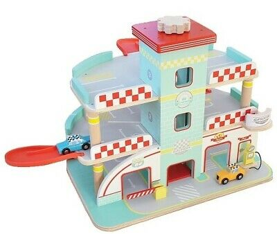 Indigo Jamm - Raceway Garage Educational Wooden Toy